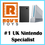 Use Roy's Toys for all your Nintendo shopping needs!